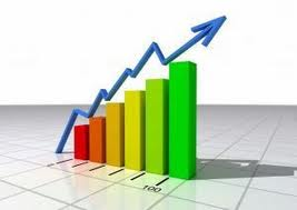 Wzrost na giełdzie - dodatnie przepływy cash flow