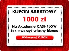 1000 PLN rabatu na akademię CASHFLOW